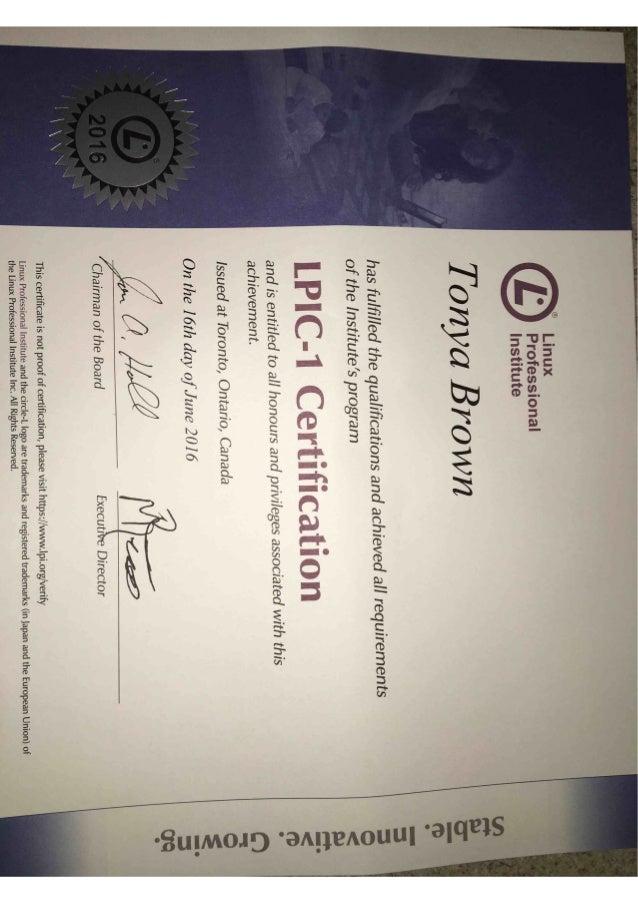 LPIC-1 Certification 2016 (1)