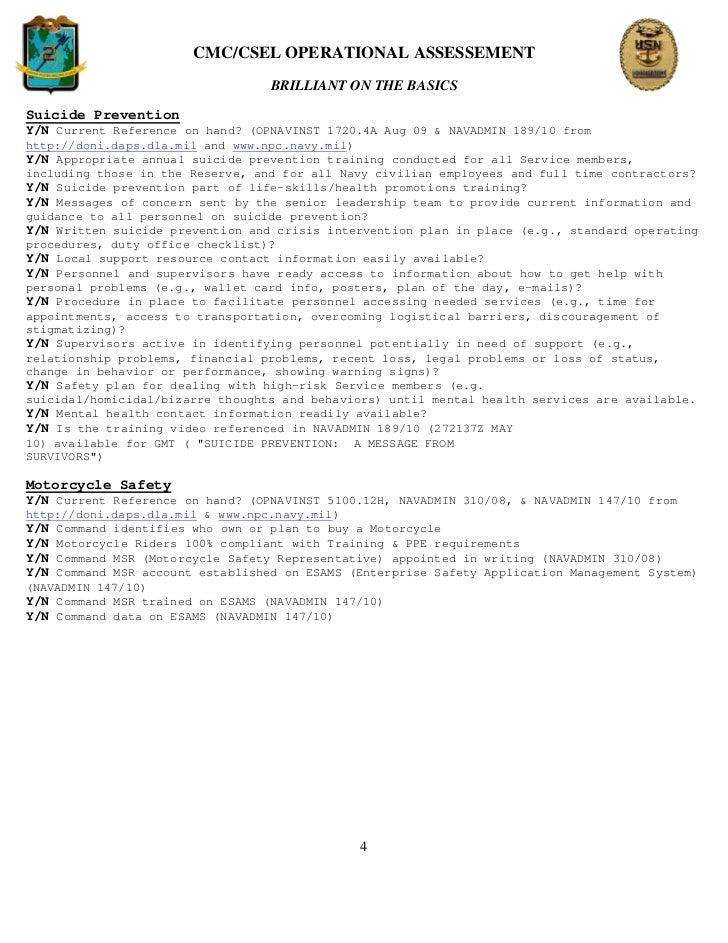 C2f Cmc And Sel Bob Assessment Checklistorig 19oct2010
