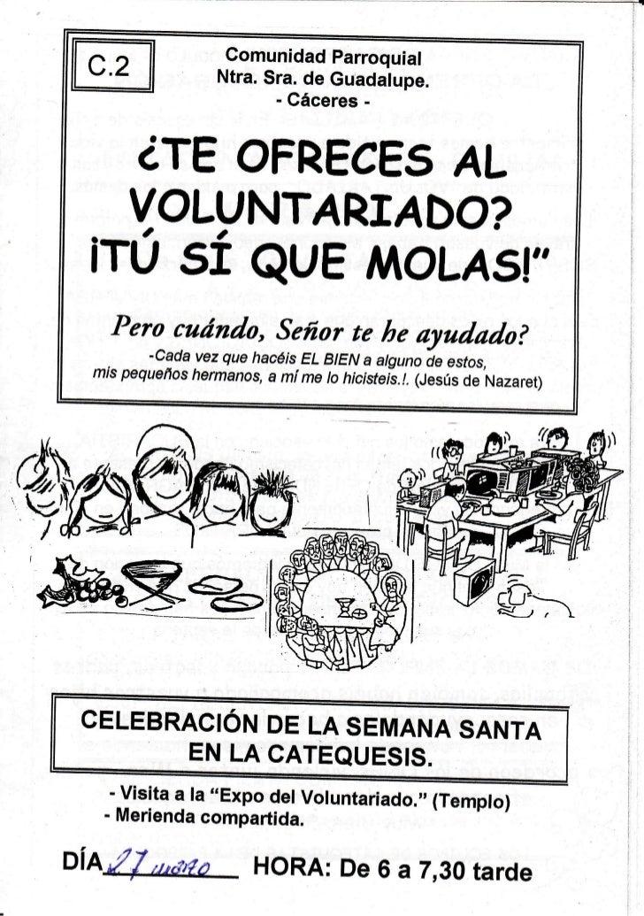 Comunidad  Parroquial                Ntra.Sra.de Guadalupe.                      - Gáceres-      ¿TEOFRECE5               ...