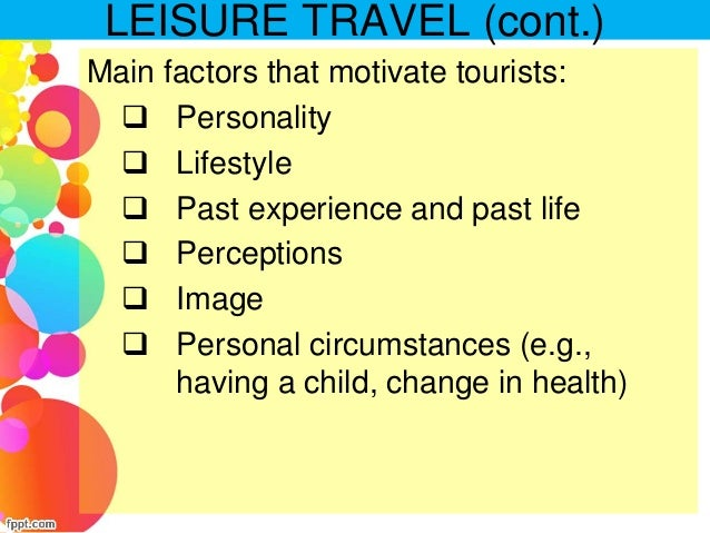 tourist motivations From this research, the results show that tourist motives and tourist  tourist  motives and tourist satisfaction and between tourist expectations and tourist.