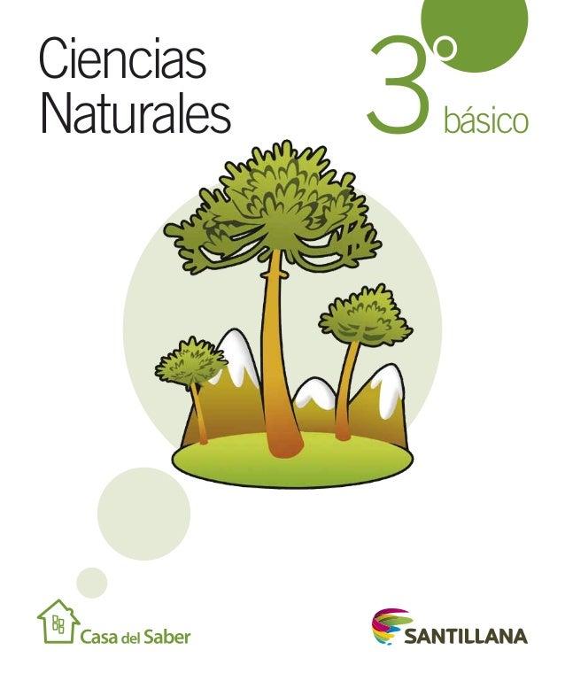 Ciencias Naturales  ° 3 básico