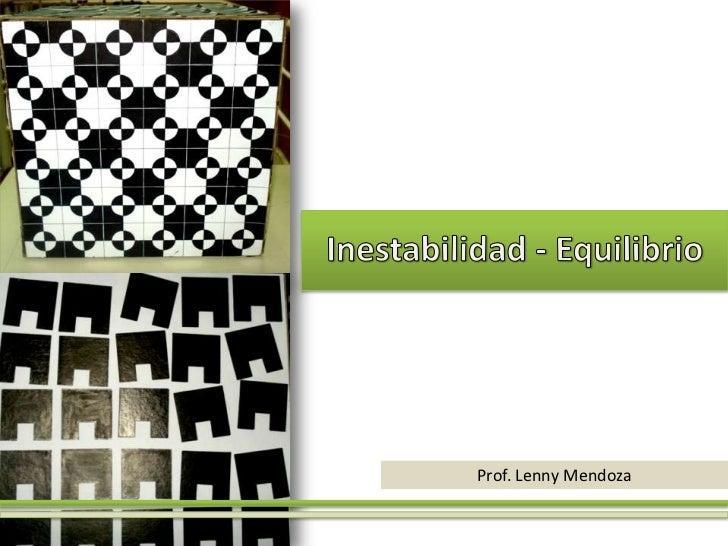 Prof. Lenny Mendoza