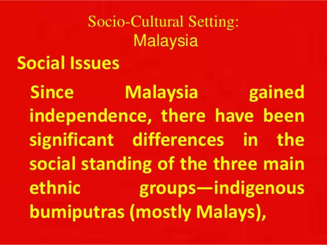 causes of social problems in malaysia Lately, malaysia is facing a serious issue regarding on baby dumping which  getting more chronic and cause a lot of attention this social.