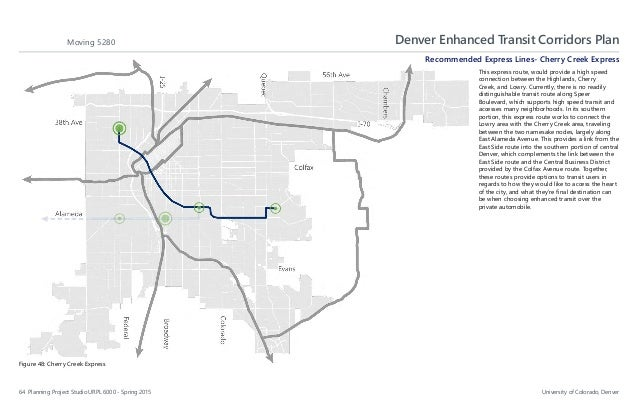 Denver enhanced transit corridors denver enhanced transit corridors malvernweather Choice Image