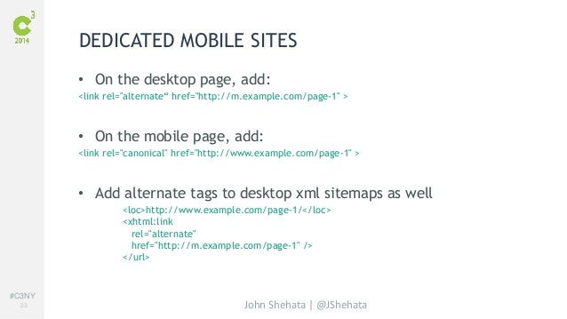 advanced mobile seo john shehata c3 2014