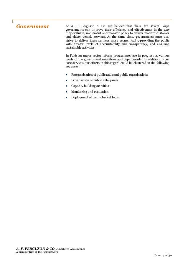 Resume   PwC Pakistan SlideShare