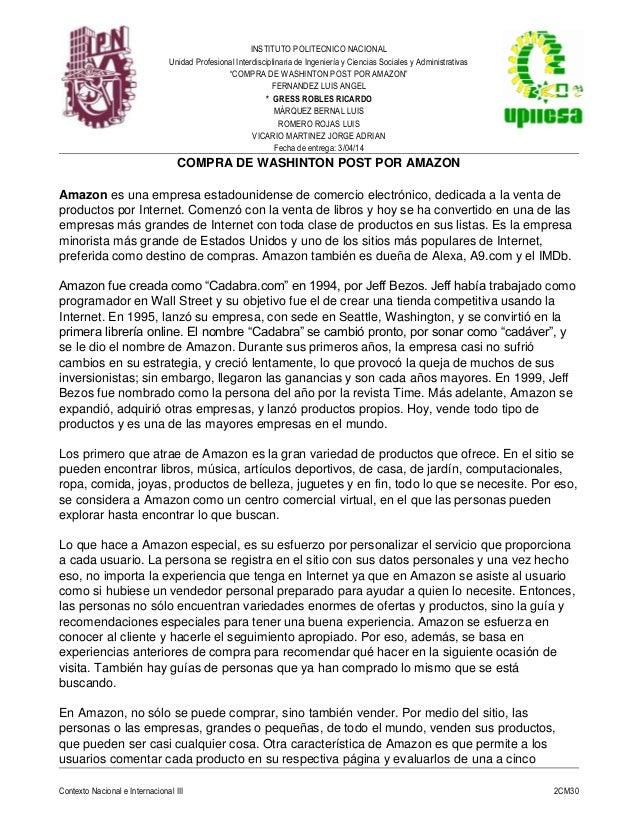 """INSTITUTO POLITECNICO NACIONAL Unidad Profesional Interdisciplinaria de Ingeniería y Ciencias Sociales y Administrativas """"..."""