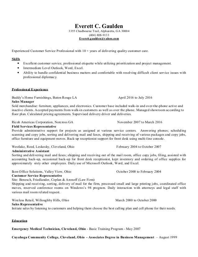 everett resume 2016a