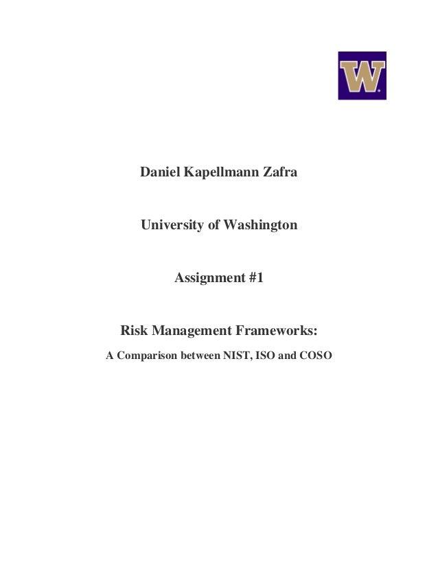 Risk Management Frameworks