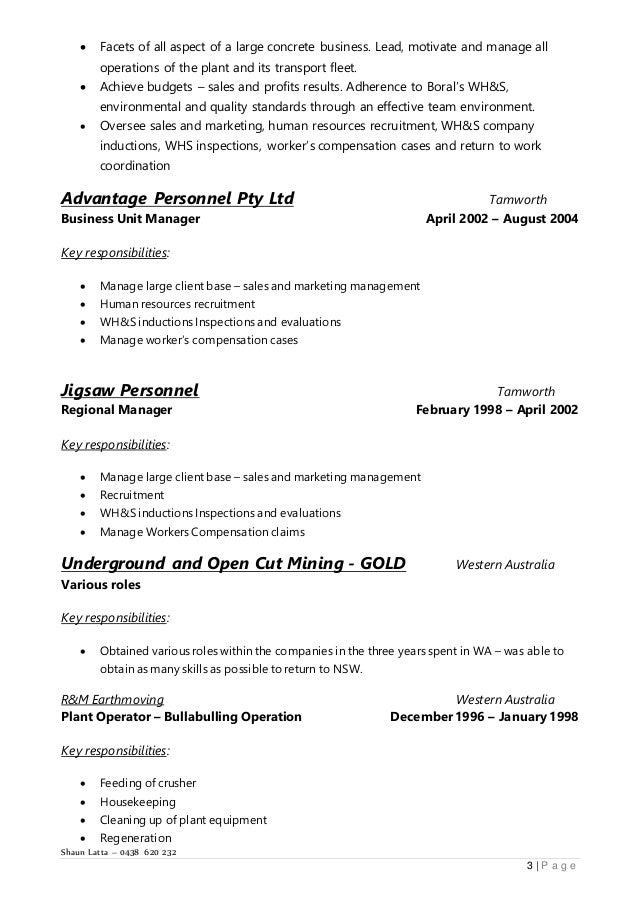 latta shaun resume 25