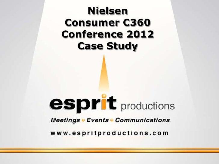 NielsenConsumer C360Conference 2012  Case Study