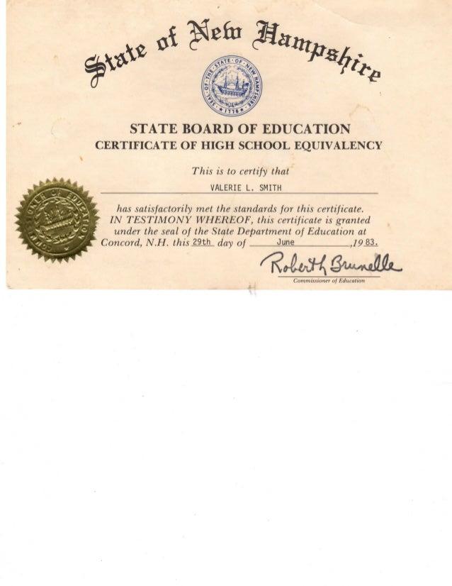 ged certificate slideshare upcoming