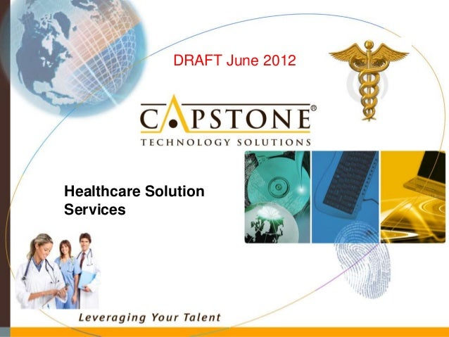 Healthcare Solution Services DRAFT June 2012