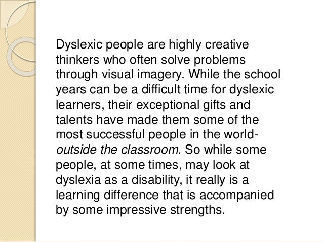Understanding Dyslexia Dyslexia The Gift >> Dyslexia And Bagrut Exams