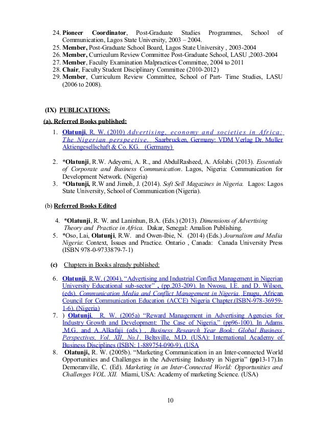 My Resume Student Economics University 2006