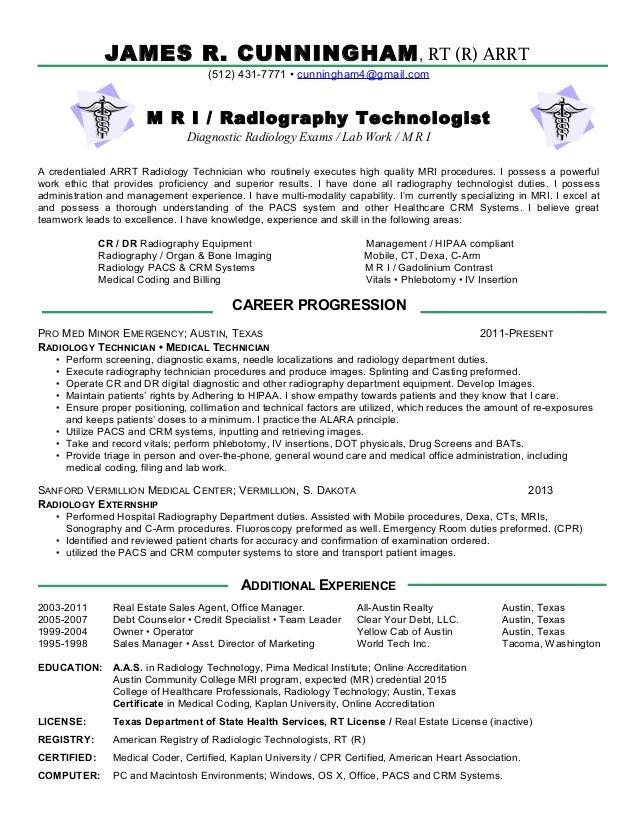 Complete Resume Mri