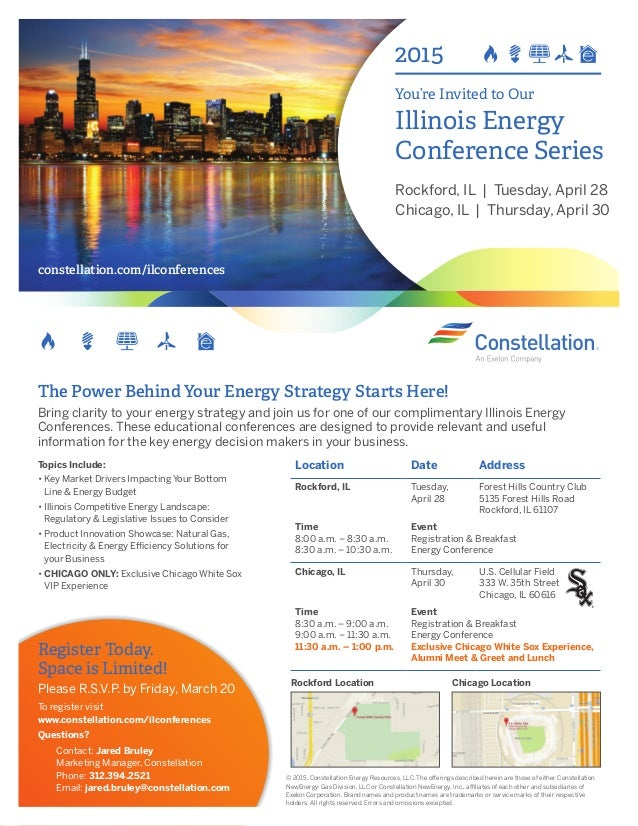 2015 youre invited to our illinois energy conference series rockford il tuesday