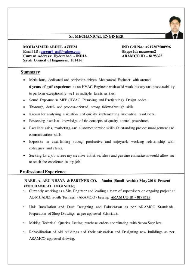 Beste Lebenslauf Für Hvac Design Engineer Fotos - Entry Level Resume ...