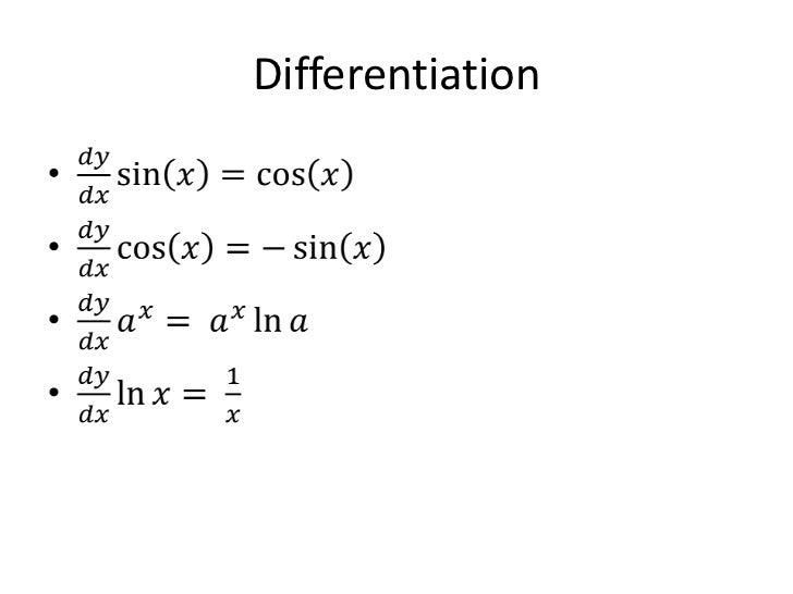 C3 C4 Formulae Everything Edexcel