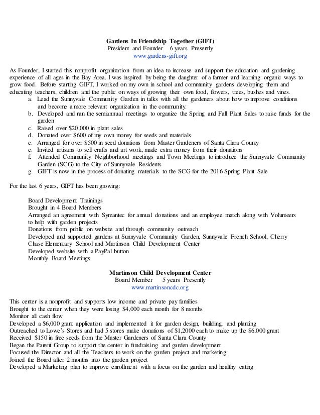 theresa e stewart administrator resume 2016 child development resume