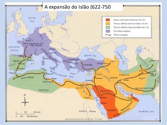 C3 cristãos e muçulmanos na península Slide 2