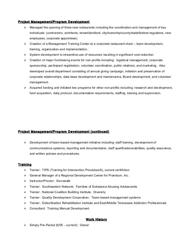 Unforgettable Host Hostess Resume Examples to Stand Out     MyPerfectResume com
