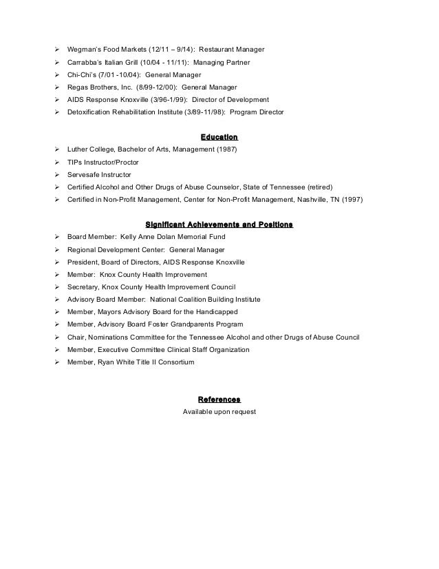 resume writer nashville