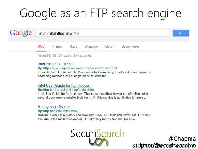 Google Ftp Search