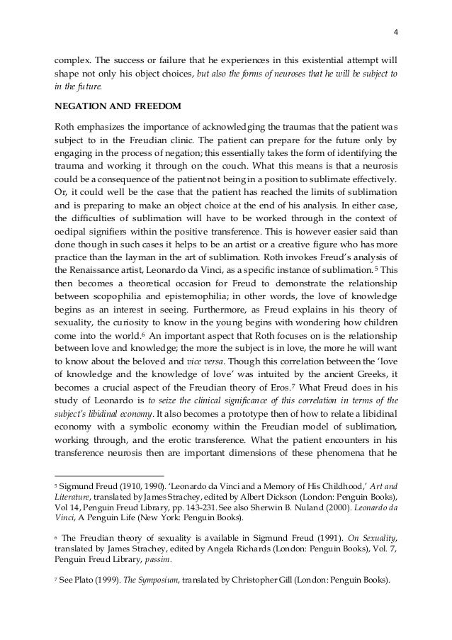 Strachey psychoanalysis and sexuality
