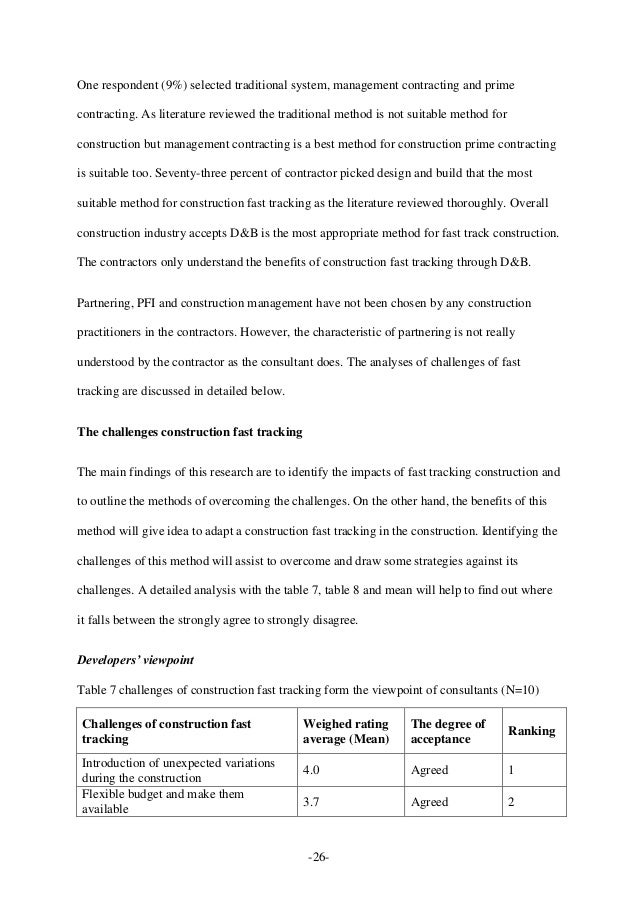 what is the procurement method construction essay To be involved in the construction project itself many construction clients are not regular purchasers of construction work this fact sheet is an introduction to  this method of procurement involves the contractor being responsible for design as well as construction, it can be suitable for.
