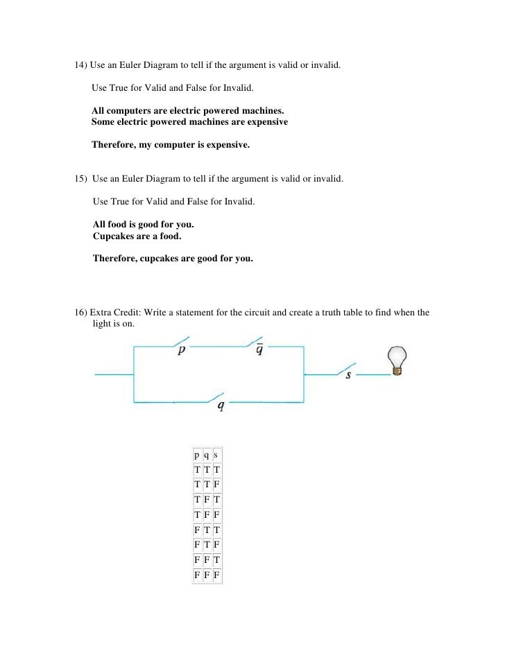 Premise Indicator Words: C3 Test