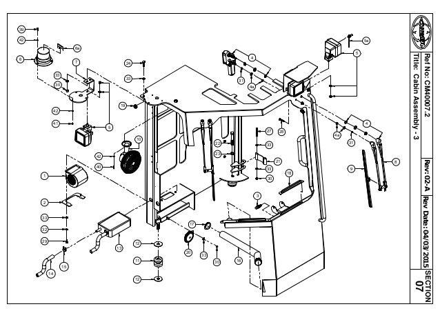 Combilift Wiring Diagram Sincgars Radio Configurations Diagrams