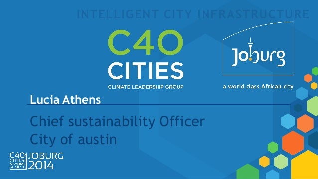 Lucia Athens Chief sustainability Officer City of austin