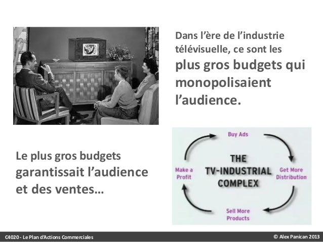 Dans l'ère de l'industrie télévisuelle, ce sont les  plus gros budgets qui monopolisaient l'audience.  Le plus gros budget...