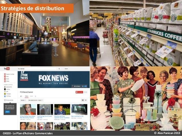 Stratégies de distribution  C4020 - Le Plan d'Actions Commerciales  © Alex Panican 2013