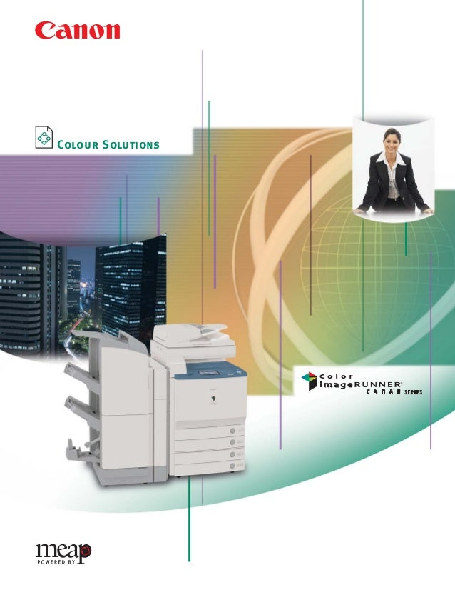 C4080 Series Brochure   9/18/06   1:04 PM   Page 1              Colour Solutions