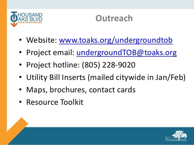 TO Blvd Outreach City Info Mtg PPT Final