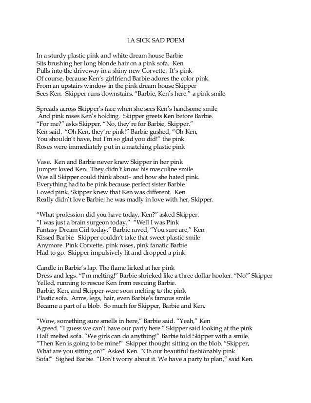 sick poem