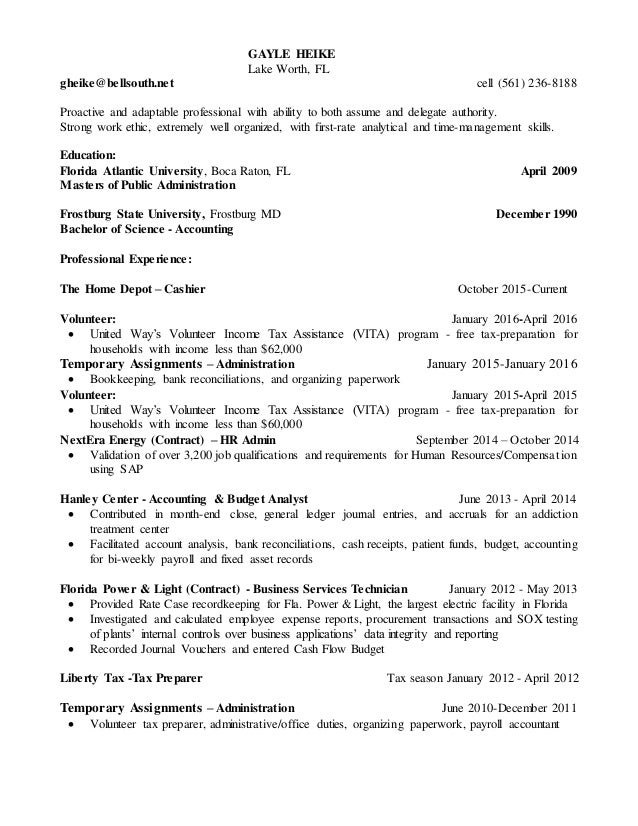 accountant analyst resume august 2016