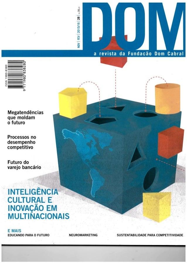 Revista DOM - O poder de um porquê
