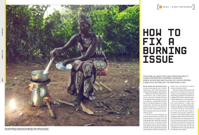 HOW TO FIX A BURNING ISSUE /SHELL//ENERGYFILES///COOKSTOVE S H E L L / W I R E D P A R T N E R S H I P adopt clean and eff...