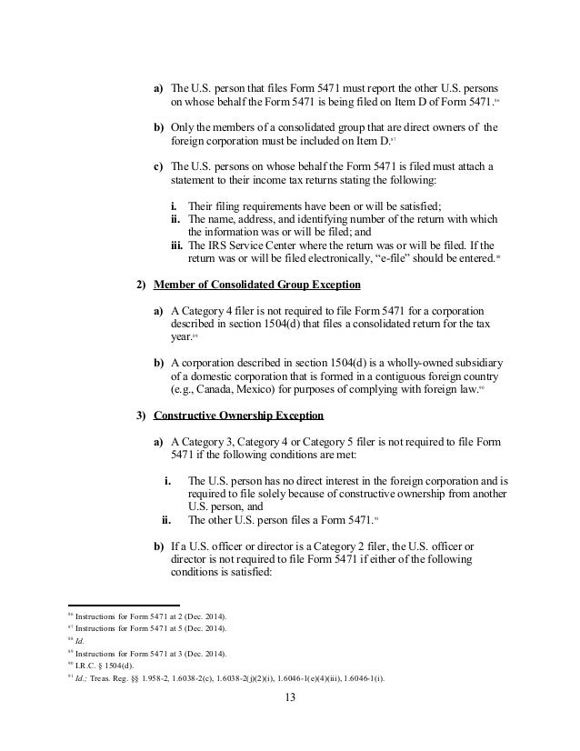 Tax Reporting For Cross-Border Transactions - Froms, Penalties, Statu…
