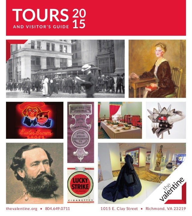 The Valentine Visitor S Guide Tour Schedule