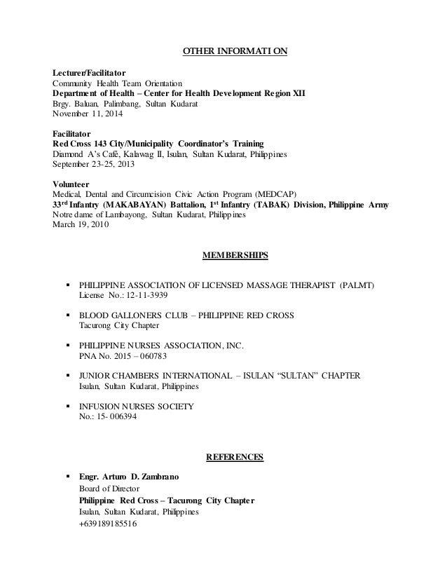 Resume Registered Nurse registered nurse resume sample 6