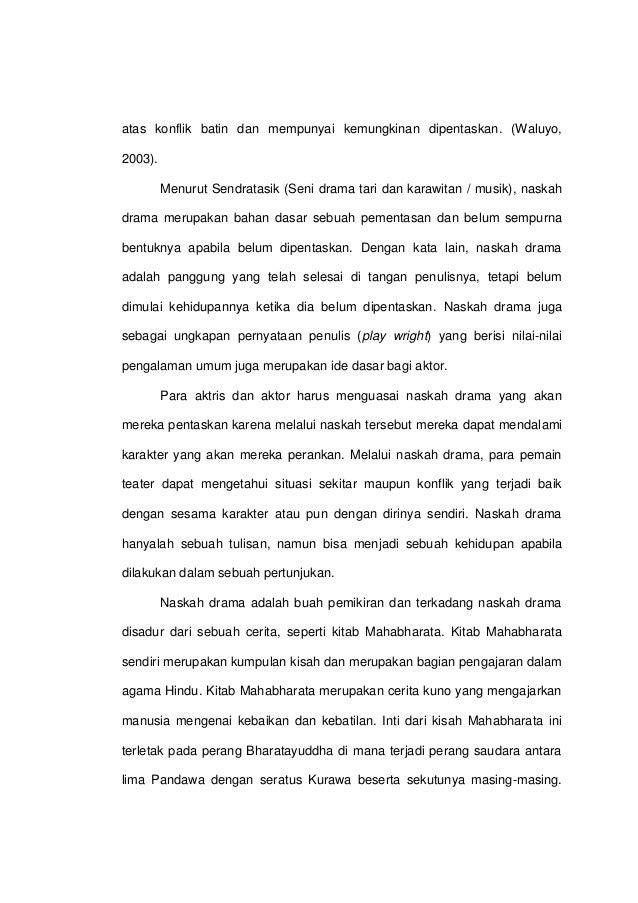 Kevin Aksama Naskah Drama Pendek Drupadi Dalam Adegan Permainan Dadu