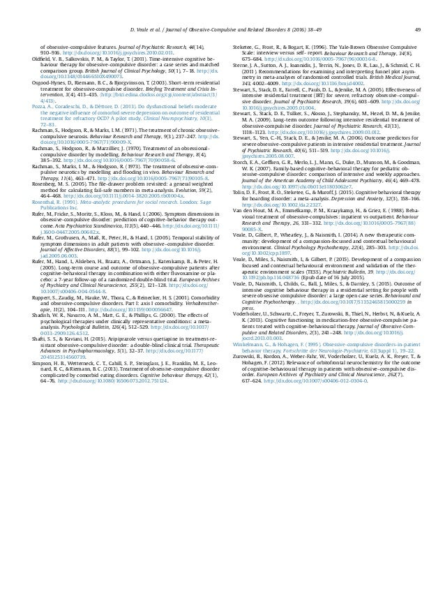 of obsessive-compulsive features. Journal of Psychiatric Research, 44(14), 910–916. http://dx.doi.org/10.1016/j.jpsychires...