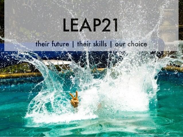 LEAP21their future | their skills | our choice                                   http://www.flickr.com/photos/73491156@N00/...