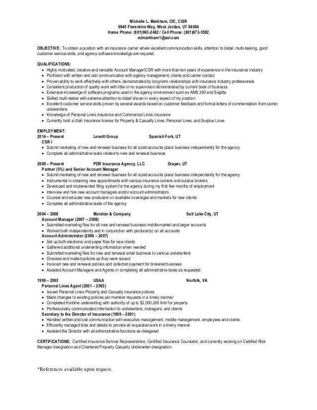 markham michelle resume final