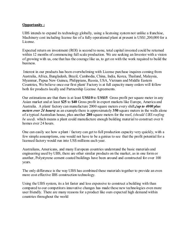 UBS Save money and the Planet PDF