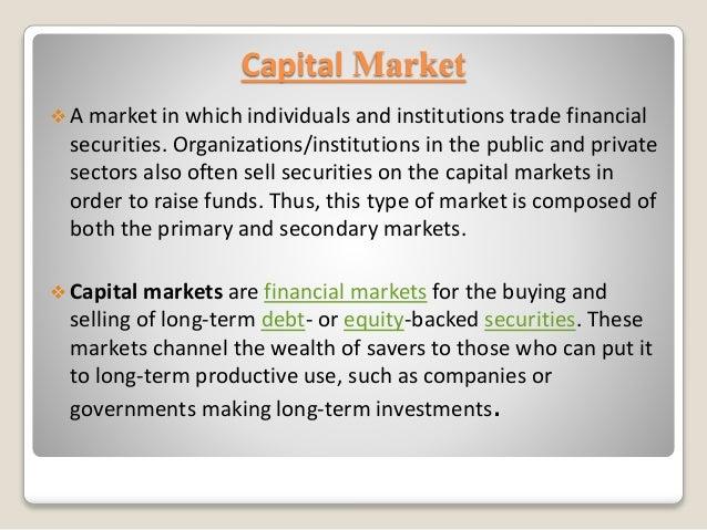 Final capital market ppt Slide 2